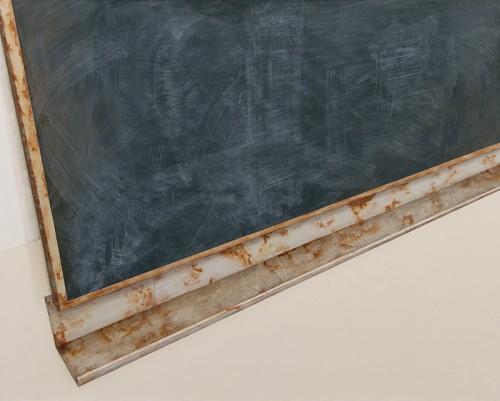 Jakub Ciezki, Blackboard, Painting, 120x150 cm, 2014, Propaganda, photocredit: courtesy of the gallery