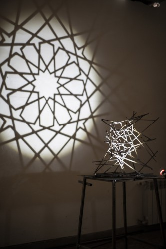 Rashad Alakbarov, Shebeke, Installation , 60 x 60 x 60 cm, 2015, Yay Gallery, photocredit: courtesy of the artist and the gallery