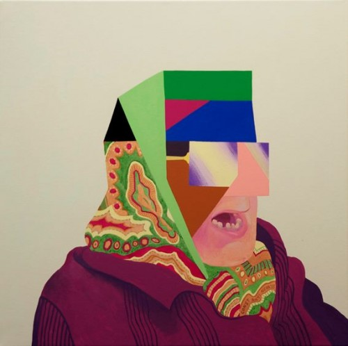 Untitled, 2014 Liudmila Konstantinova, Painting , 60 x 60 cm Triangle Gallery , Triangle Gallery