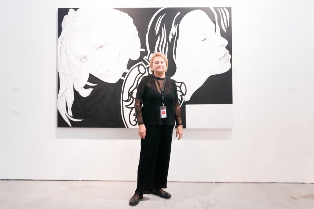 Ursula Krinzinger, photo: Kristina Kulakova