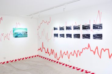 Dominika Trapp, And indeed the tragedy of our age is fully present in it (exhibition view), 2016, courtesy of TRAPÈZ, photo by Dávid Biró