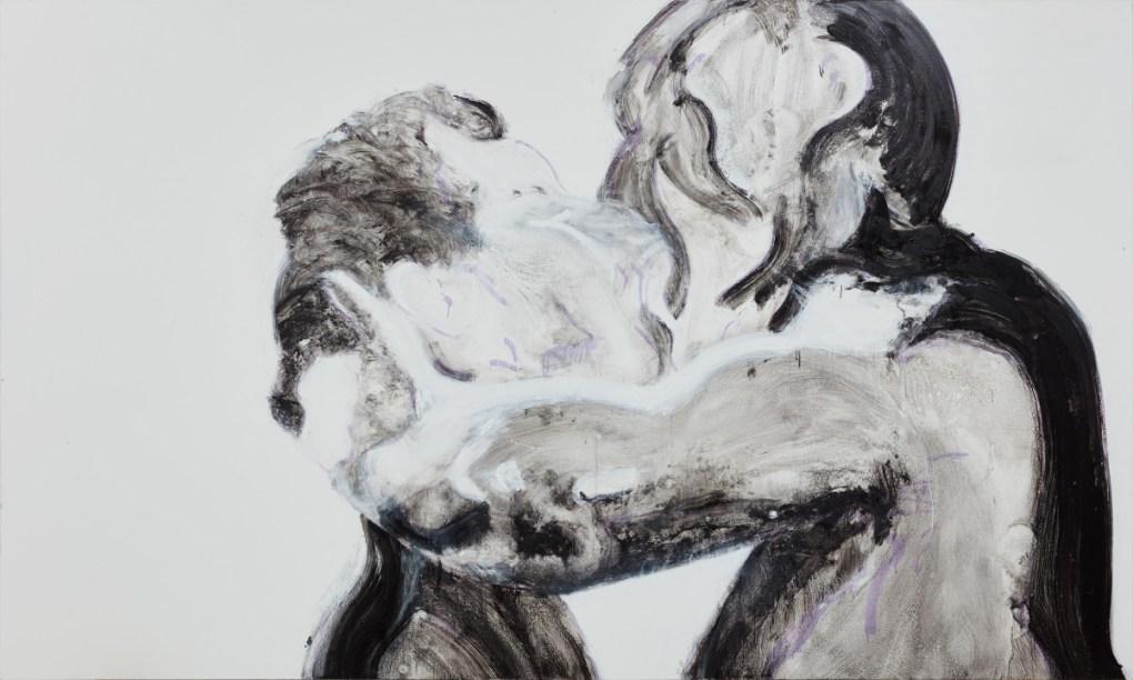 Nicole Wittenberg, Black and White Kiss, 2016