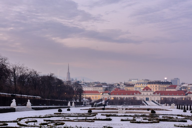 Vienna Photo Locations: Upper Belvedere
