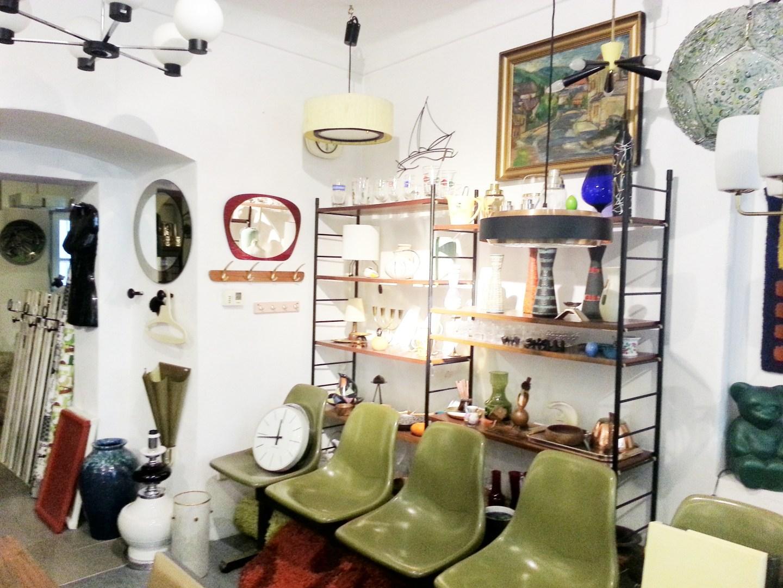 design of 20th century, Vintage, Möbel, Wohnen, Margaretenstraße, 70er, Panton, Opal, Ingo Maurer