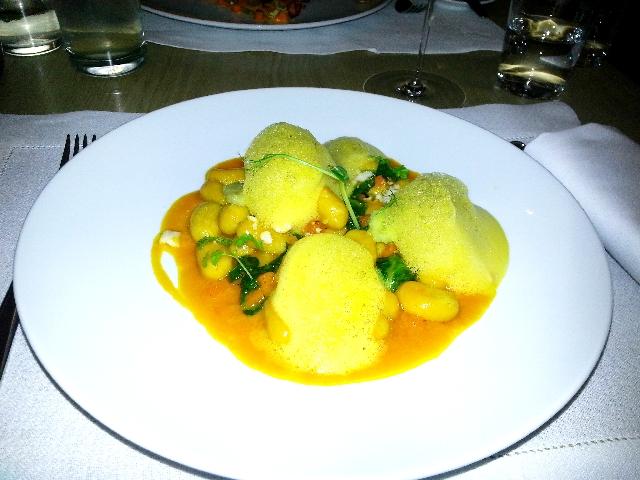 Gnocchi mit Kübis,TIAN, Wien, Vegan, vegetarisch, Restaurant, Test