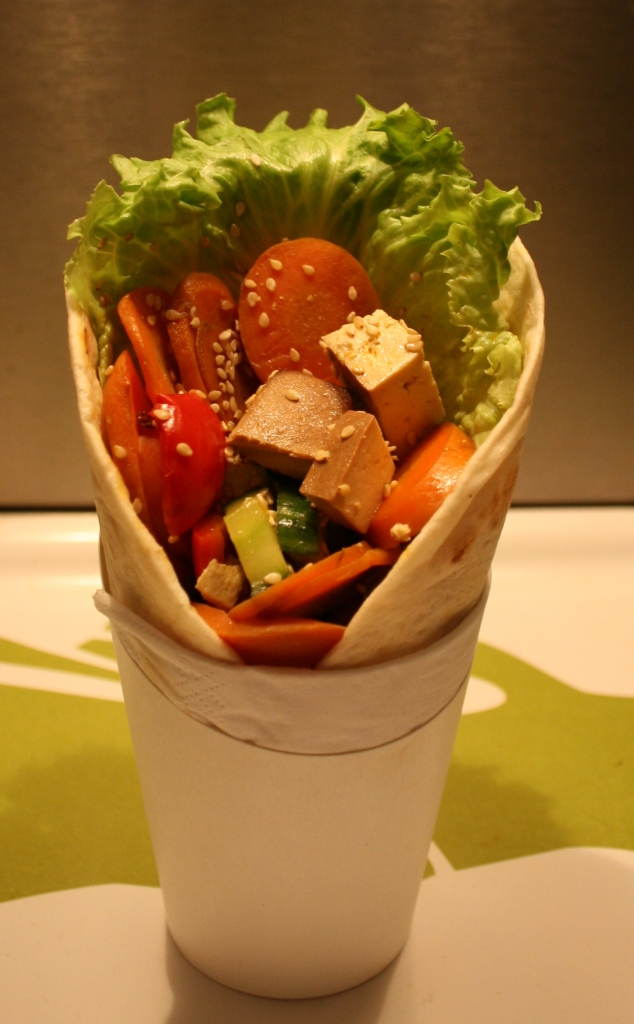 Favourite Fast-Food: Gemüse Wrap