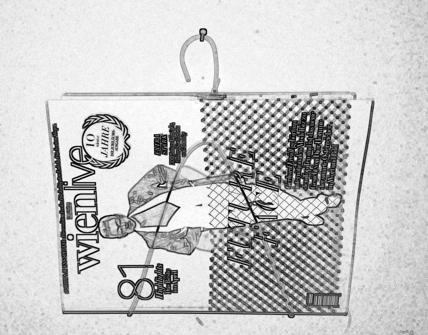 Kleiderhaken, DIY; Wohnen; Tipps, Zeitschriftenhalter