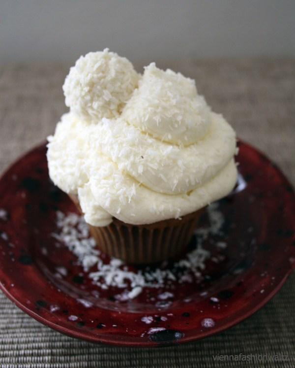 Schoko Kokos Cupcake