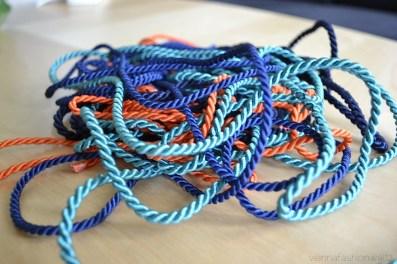 04 Basteln Kordeln und Bänder