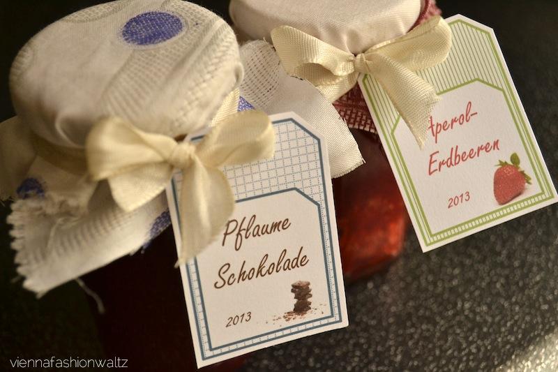 DIY Marmelade + Beschriftung mit Vorlage zum Ausdrucken!