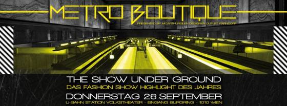 Shopping, Volkstheater, Metro