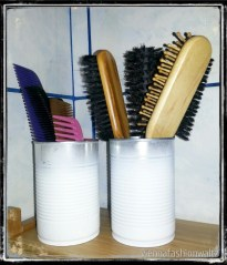 DIY, Upcycling, Dosen, TIN CAN, Utensilo, Stiftebecher, Zahnputzbecher, Wohnen, Living