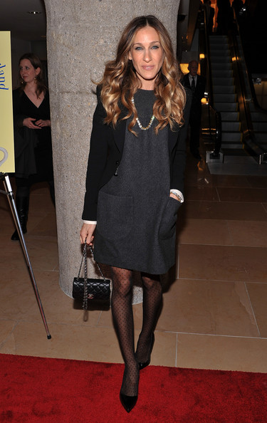 Style of Sarah Jessica Parker Sarah+Jessica+Parker+Dresses+Skirts+Day+Dress+LSs9c46Q_nFl