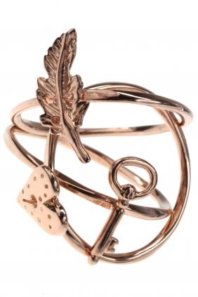 LOVELY SYMBOLS Stacking Ring Set rosé vergoldet € 55,00