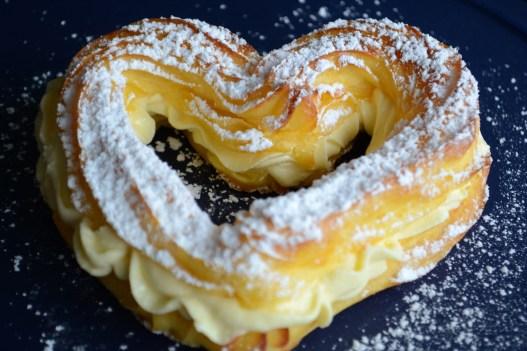 Brandteig Herzerl, Valentinstag Special - Last Minute Ideen zum Selberbacken