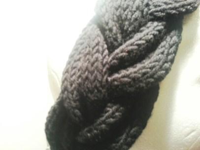 Strickanleitung, geflochtenes Stirnband, Lang Wolle, Stricken, DIY
