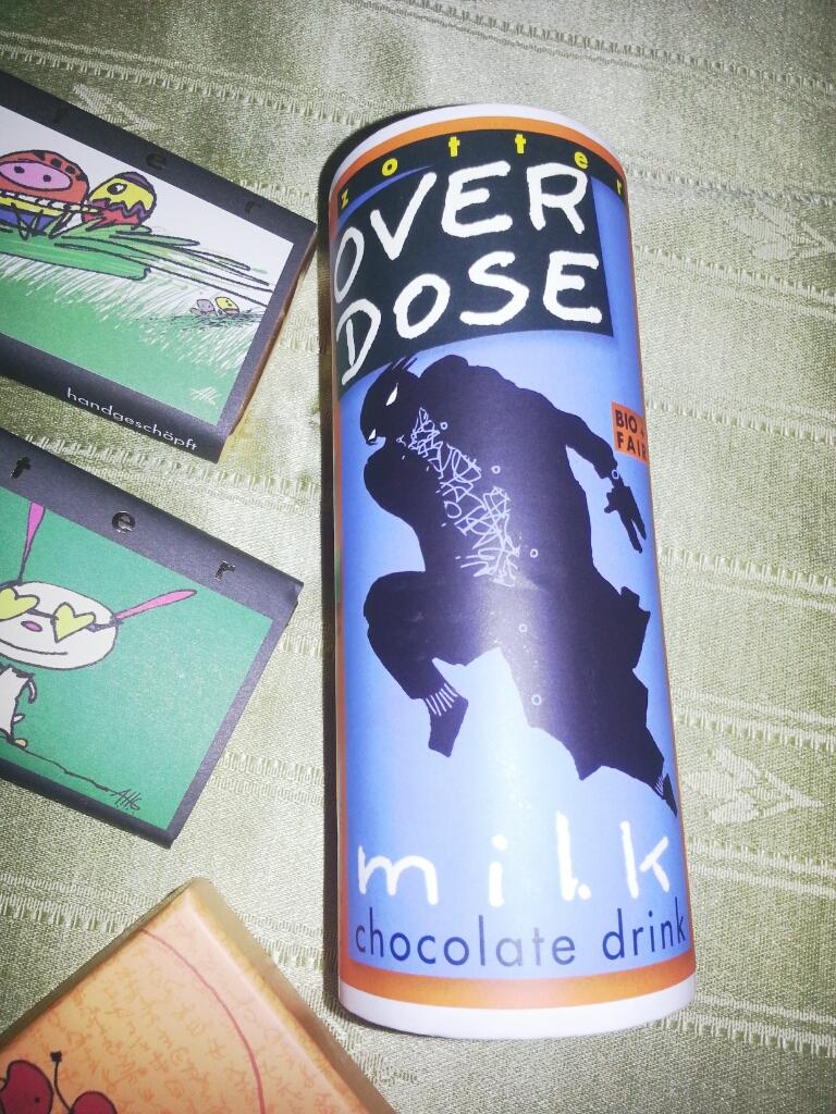 Trinkschokolade 2,75€ https://www.zotter.at/de/schoko-shop/overdose.html