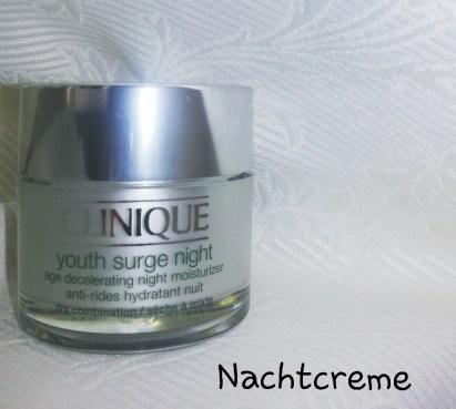CLINIQUE YOUTH SURGE NIGHT http://www.marionnaud.at/Marionnaud/Pflege/Gesicht/Nachtpflege/Youth-Surge-Night-Hauttyp-2/p/133CQYOUTHSURGENIGHTDRYAGEDECELMOIST