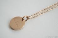 LOVE Kette Edelstahl rosé vergoldet € 25,00 http://www.newone-shop.com/new-one-jewelry/love-kette-edelstahl-rose-vergoldet-herz.html