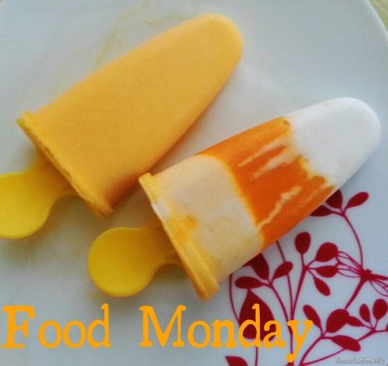 Kokos Mango Eis am Stil, Popcycle, selbstgemacht Eis
