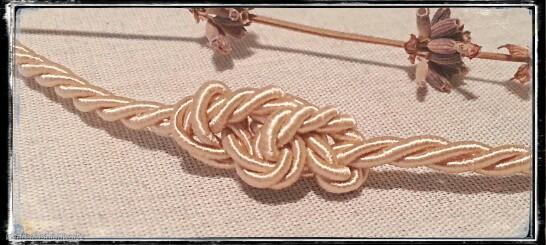 DIY, Knoten, Haarband, Halskette