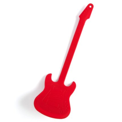 Pfannenwender Gitarre um 14€ http://www.amazon.de/GamaGo-1941-Black-Pfannenwender-Gitarre-Farbe/dp/B003H06DOW/ref=pd_sim_k_1?ie=UTF8&refRID=13RYCKYHV4BYRKCX27H9