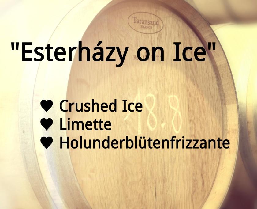 """""""Esterházy on Ice"""" Cocktail"""