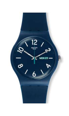Swatch BACKUP BLUE um 55€