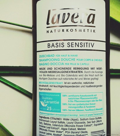 Lavera vegan Basis Sensitiv