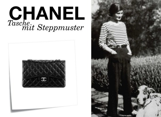 Gabrielle_Chanel_en_marinière (1) - Chanel 2.55 gesteppte Handtasche www.viennafashionwaltz.wordpress.com