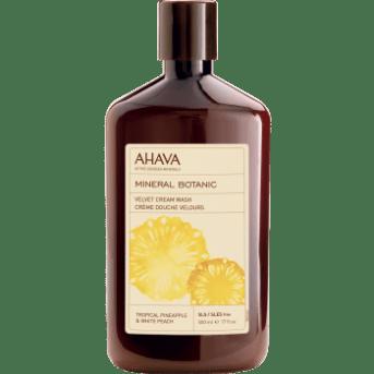 1#AHAVA MINERAL BOTANIC Tropische Ananas & Weißer Pfirsich