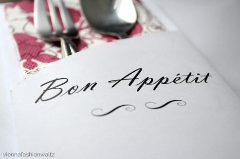 Tischdekoration Bestecktasche Serviette Weihnachten - Blog Vienna Fashion Waltz 8