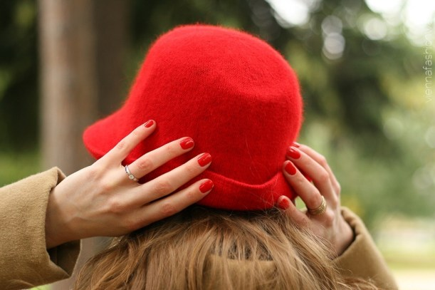 vienna fashion waltz blog - hut tut gut - hutlieblinge - roter Hut - red hat - hmshop h&m (3)