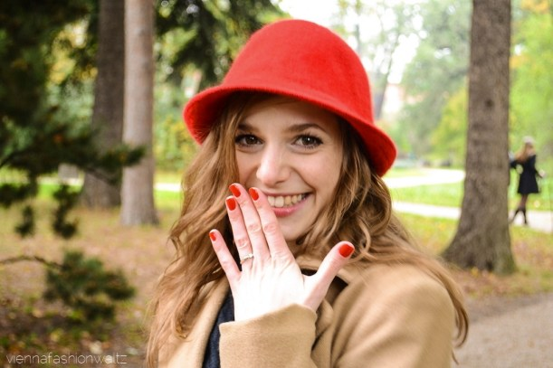 vienna fashion waltz blog - hut tut gut - hutlieblinge - roter Hut - red hat - hmshop h&m (4)