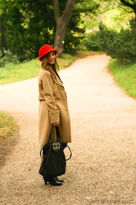 vienna fashion waltz blog - hut tut gut - hutlieblinge - roter Hut - red hat - hmshop h&m (5)
