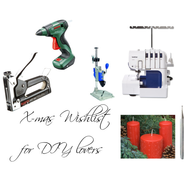 Xmas wishlist diy