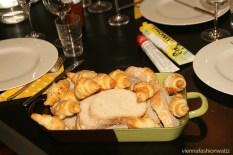 Bagutette und Käsestangerl