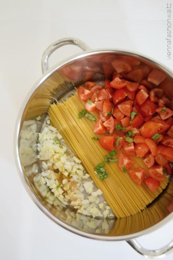 One Pot Pasta - Alles aus einem Topf!