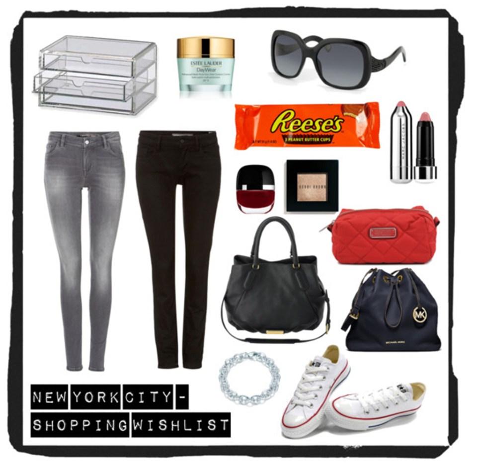 New York Shopping Wishlist