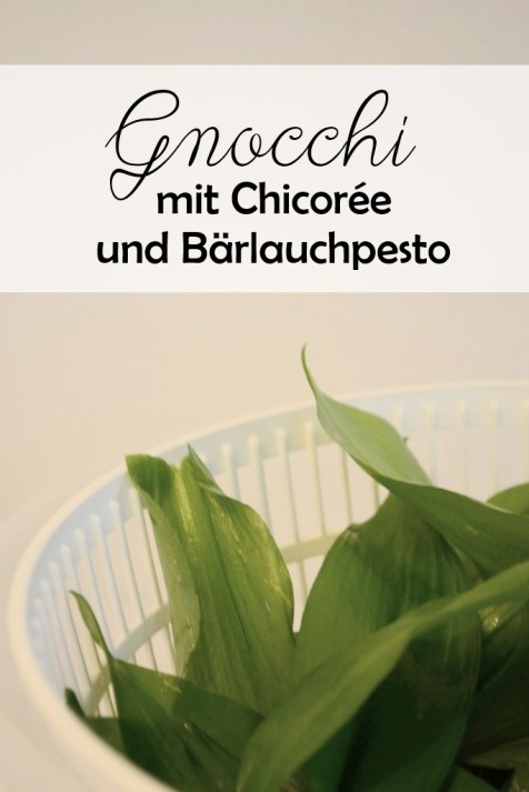 Blog Vienna Fashion Waltz Vegan Rezept homemage Gnocchi mit Chicoree Bärlauchpesto Bloggerreihe Saisonales Kochen (3)