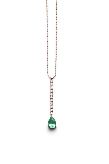 Collier mit Paraiba Turmalin und Diamanten: €17.490