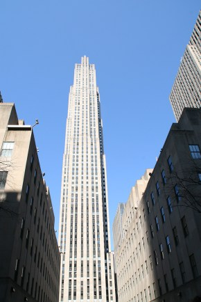 NYC Rockefeller Center Top of the Rock1