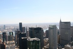 NYC Top of the Rock View Chrysler Building