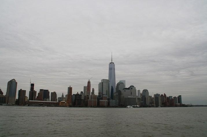 NYC Ellis Island Manhattan View