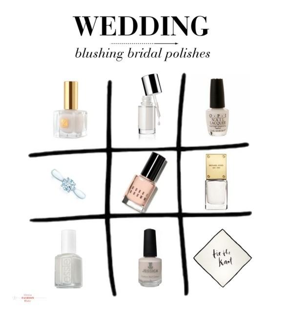Wedding nail polishes estee lauder tiffany essie jessica cosmeticsd opi Blog www.ViennaFashionWaltz