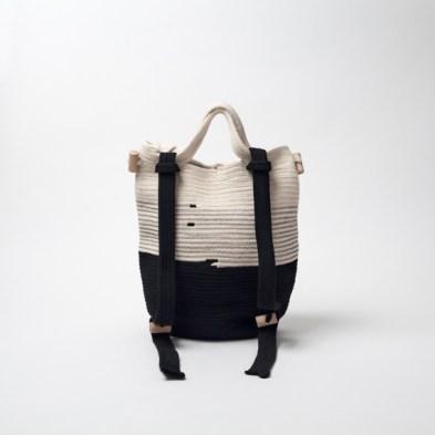 Rucksack aus Seil & Garn von dawuschn um €290
