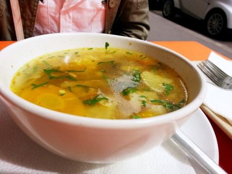 Landia,vegetarisch,Restaurant,Suppe