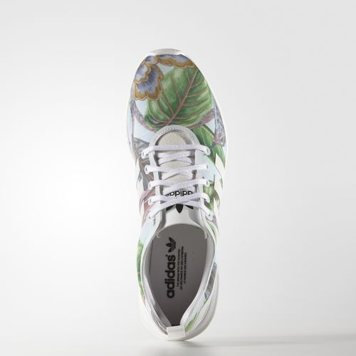 Adidas zx flux floral fashionblog www.viennafashionwaltz.com