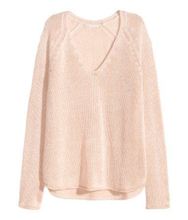h&m pullover rose quartz fashionblog www.viennafashionwaltz.com
