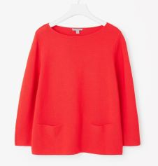 Cos Pullover rot